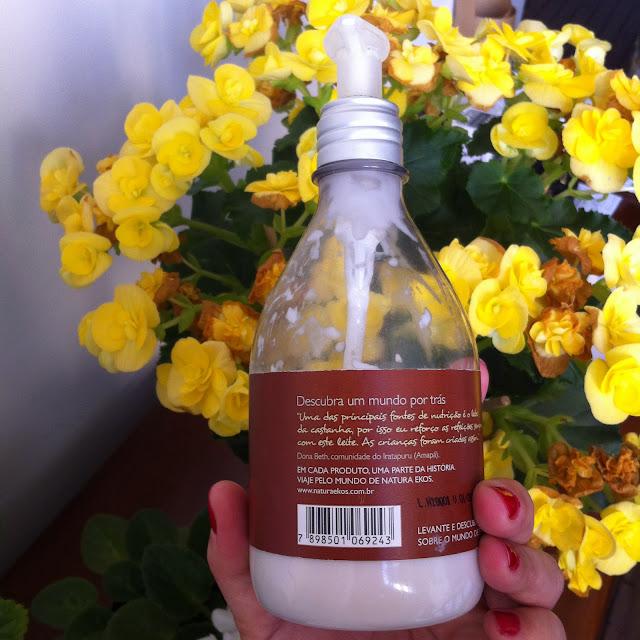Polpa Hidratante para o corpo Castanha Natura Ekos
