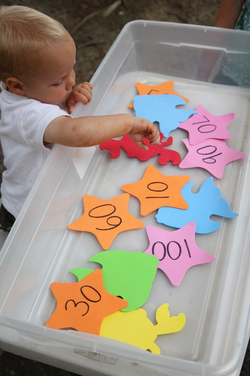 Toddler Approved Ocean Week Number Sensory Play For Kids
