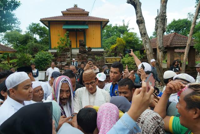 Sandiaga di Ponpes Al Islah Tegal: Ukhuwah Nomor Satu, Presiden Nomor Dua