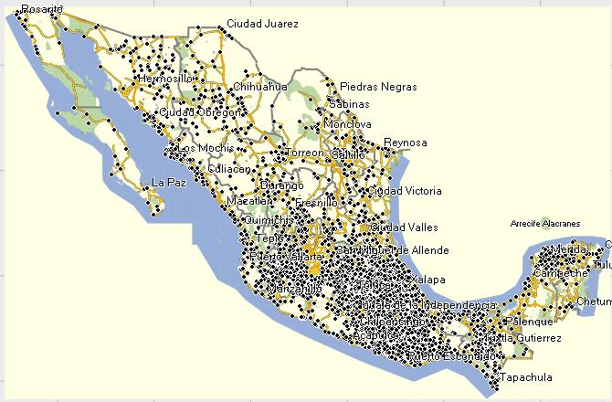 GPSTravelMaps.com: Yucatan Peninsula Mexico GPS Garmin on