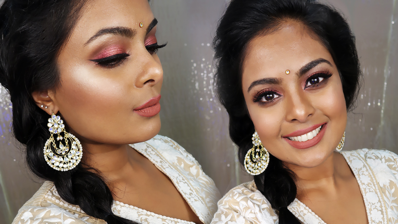 2017 beauty blog fashion blog kuwait dubai india jovita george so this rose gold eyeshadow look makes a very very beautiful makeup that you can wear to a wedding party or any party for that matter baditri Image collections