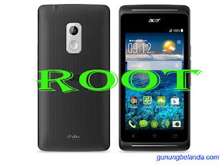 Cara Root Acer Liquid Z205 dengan PC
