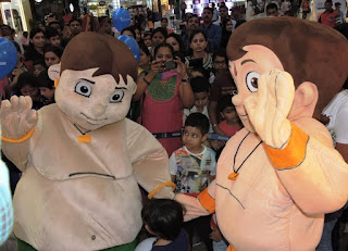 Children Day celebrations:  Chhota Bheem, Kalia, entertained the crowd