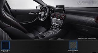 Nội thất Mercedes AMG A45 4MATIC 2016 màu Đen