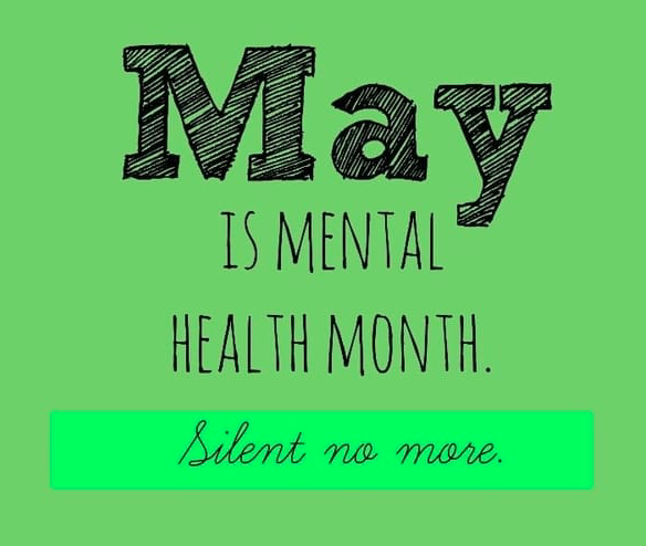 Whatever I Think Of!: Mental Health Month
