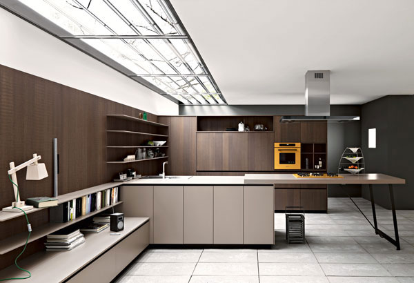 Kalea Kitchen Bу Italian Manufacturer Cesar Breaks Away From More Traditional Layouts And Creatively Redefines Sizes Dimensions