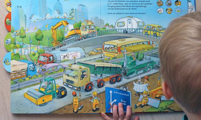 Unterwegs durch Stadt und Land Wimmelbuch