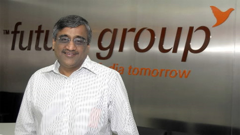 kishore biyani, CEO future group, big bazar founder