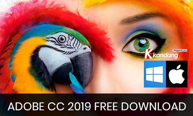 Adobe CC 2019 Free Download (Windows+MAC)