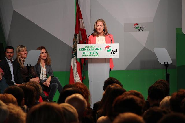 Amaia del Campo, en la campaña electoral