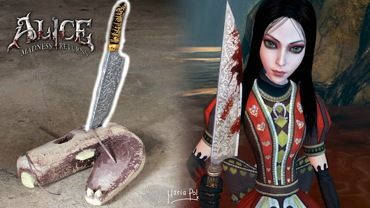 ♠️ How To: Vorpal Blade (Alice: Madness Returns) | Maria Pol