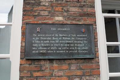 The Shambles York.
