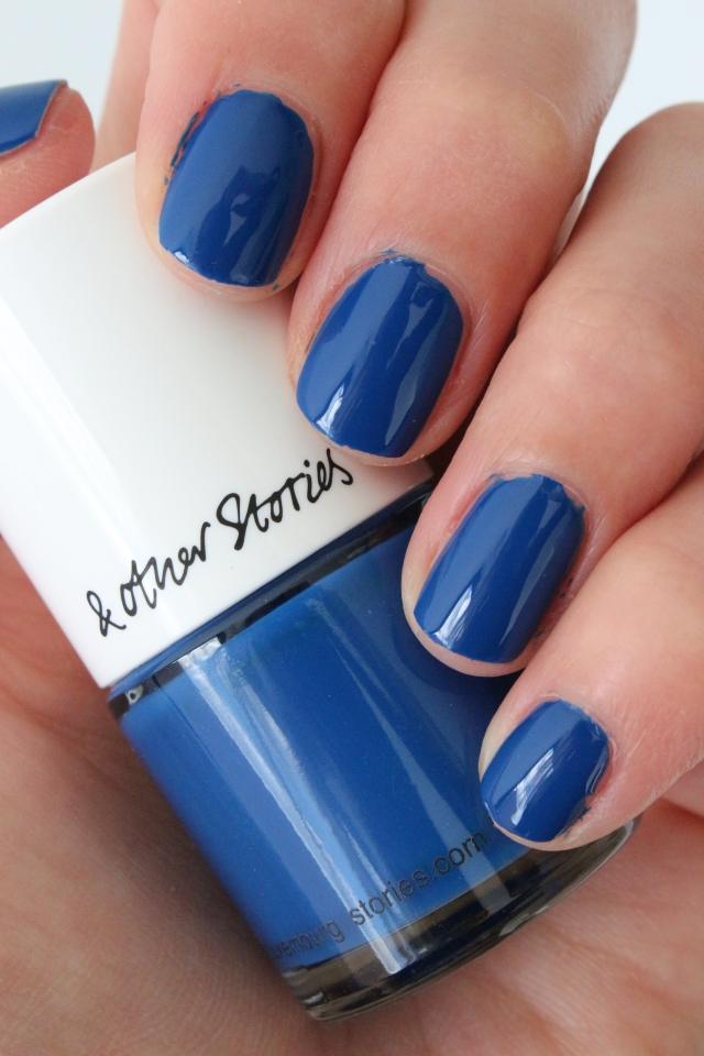& Other Stories Nail Colour Abrasion Indigo