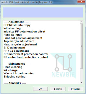 Cara Reset Epson L120 Lampu LED Berkedip Bergantian