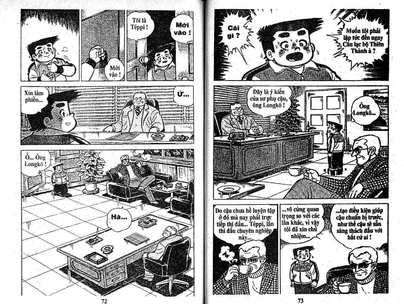 Ashita Tenki ni Naare chapter 21 trang 35