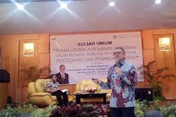 Kuliah Umum Peran LPS Oleh Dr. Halim Alamsyah di FEB Univ. Airlangga 8 November 2017