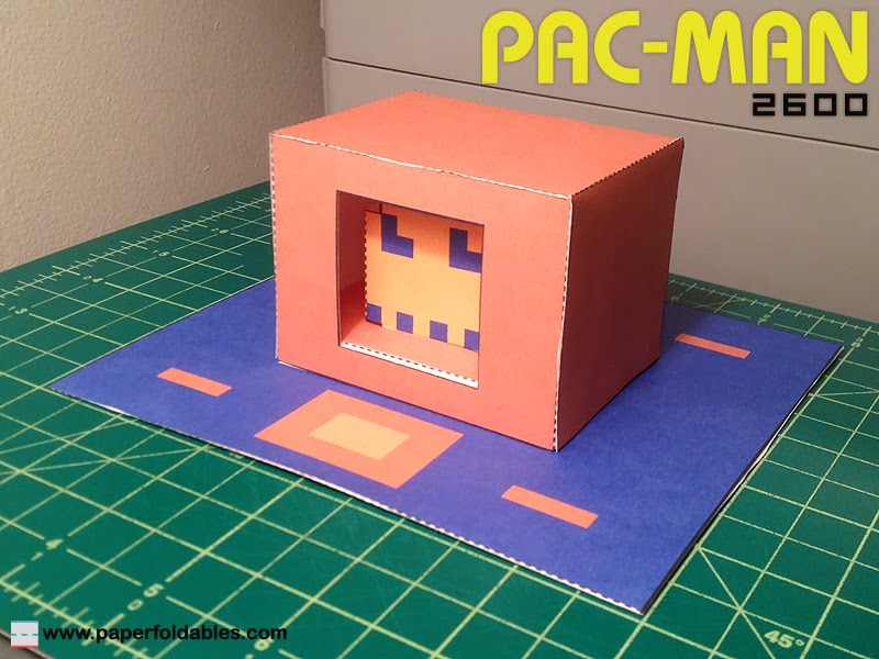 PAC-MAN 2600 Paper Toy