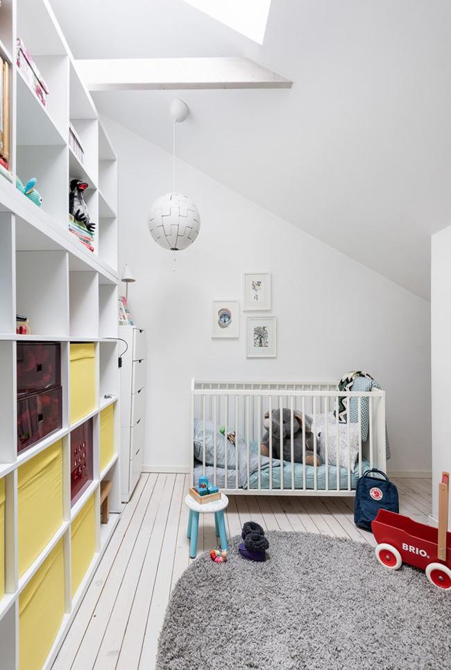 Habitación bebe estilo nórdico