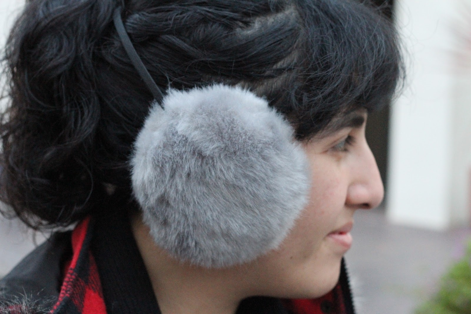 Ear Muffs Ice Skating Winter Outfit