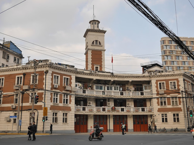 Hongkou Fire Station in Shanghai