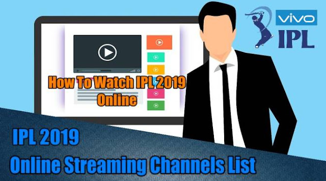 IPL Broadcast Channel 2019 List