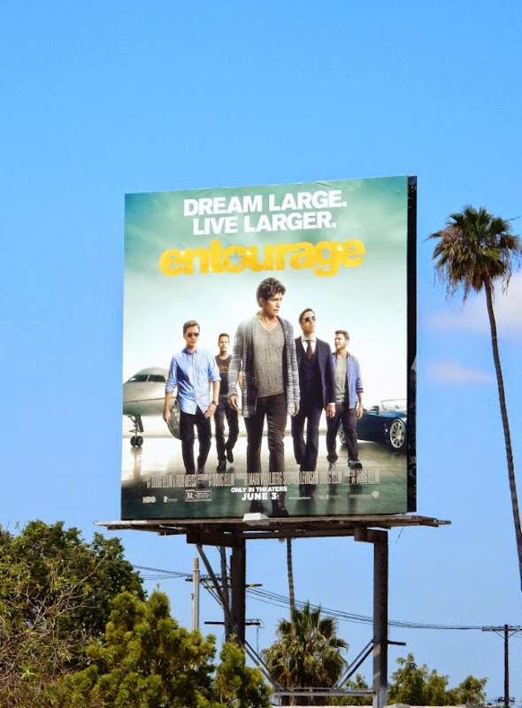 Entourage movie billboard