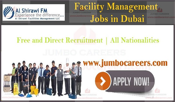 jobs in facility management, Urgent facility management jobs with benefits,