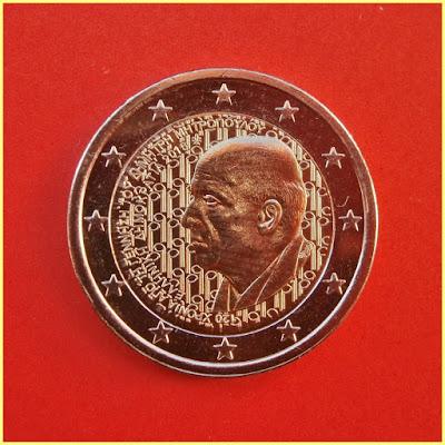 2 Euros Grecia 2016