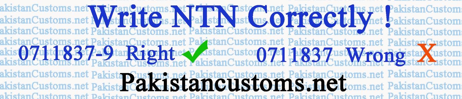 Find NTN Check Digit. Or  Write NTN Correctly !