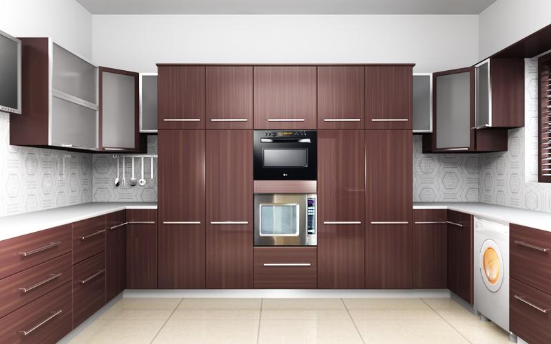 nova interiors pvc modular kitchen cabinets in coimbatore