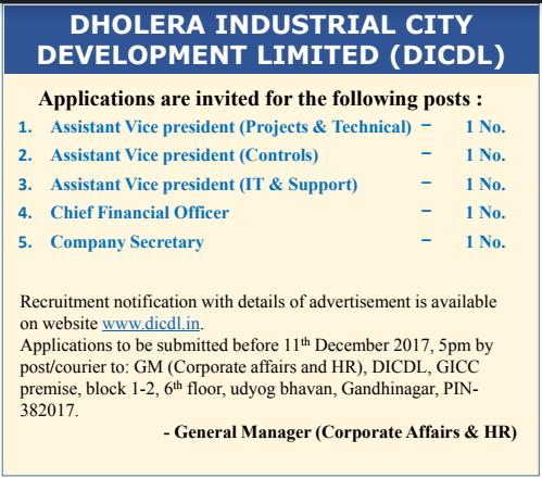 10 pass jobs 12 pass jobs dicdl recruitment
