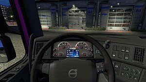 Winter Animated dashboard for Volvo 2009