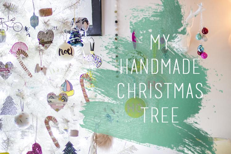 Sammy's Handmade Christmas Tree 2016
