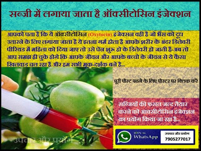 क्या आप विषाक्त सब्जी और फल खा रहे है