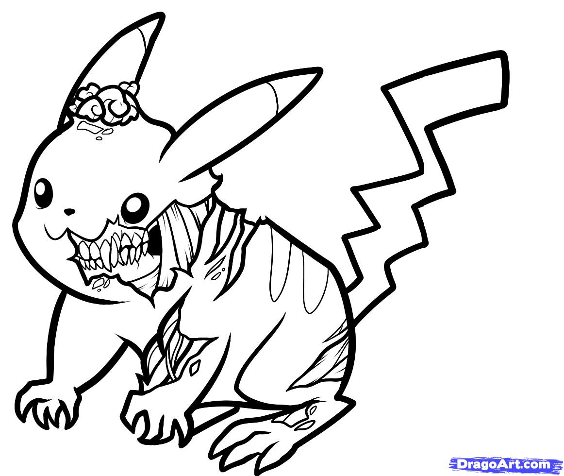 Hastings Illustrations Zombie Pikachu Rendering