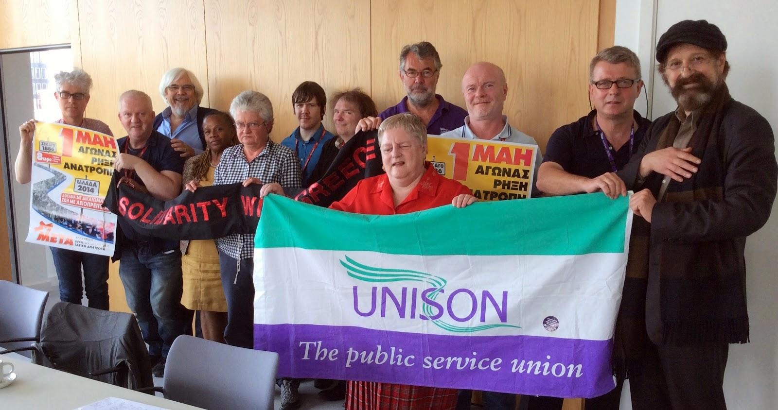 John's Labour blog: Greater London UNISON international
