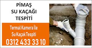 Kameralı Su Kaçağı Tespiti Ankara