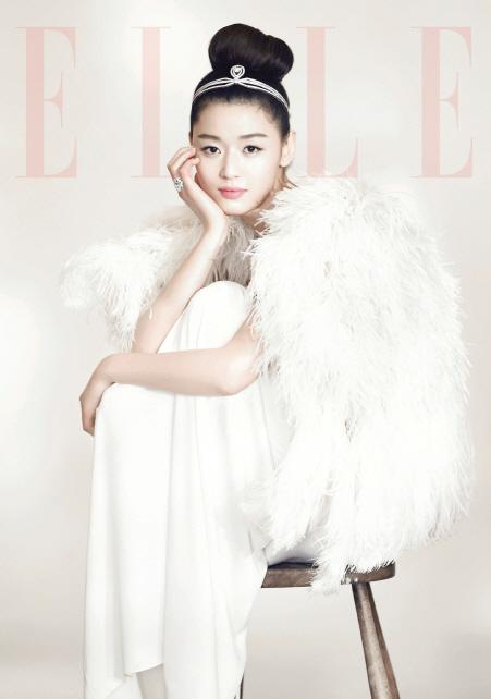 Picture More Of Jeon Ji Hyun S Wedding Pictorial For Elle Daily K Pop News Latest K Pop News