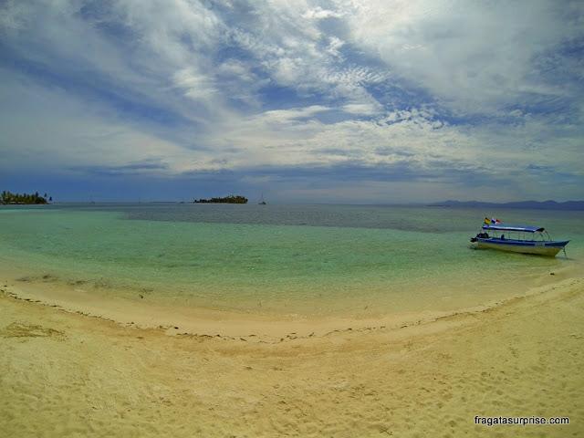 Mar cristalino de San Blas, Panamá