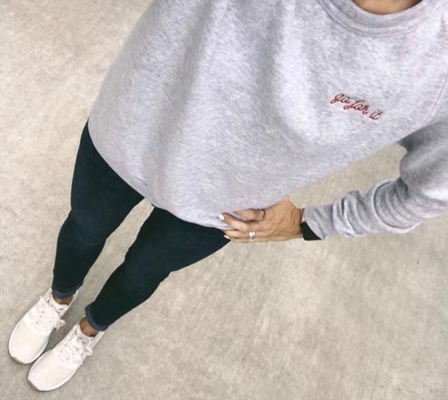 Nickel & Suede Sweatshirt