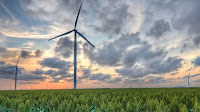 A wind farm in Texas, US (Picture Credit: Drew Kolb/Flickr) Click to Enlarge.