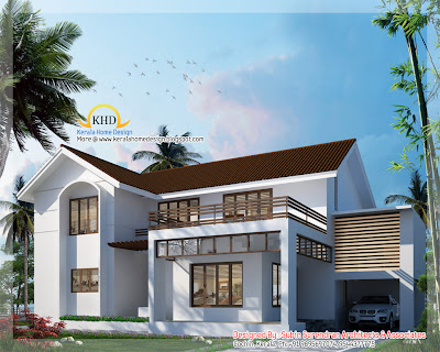 5 Bedroom Villa Elevation - 279 Sq M (3000 Sq. Ft) - January 2011