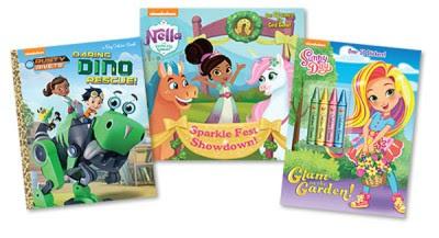 NickALive!: Random House Expands Nickelodeon Preschool Publishing ...