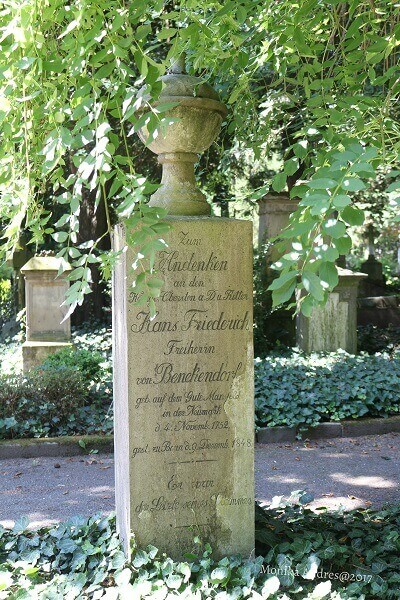 alter Friedhof Bonn Grabstätte / eigene kleine Welt