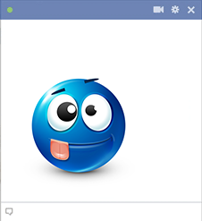 Goofball Facebook Sticker