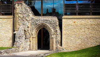 Norwich Cathedral entrance