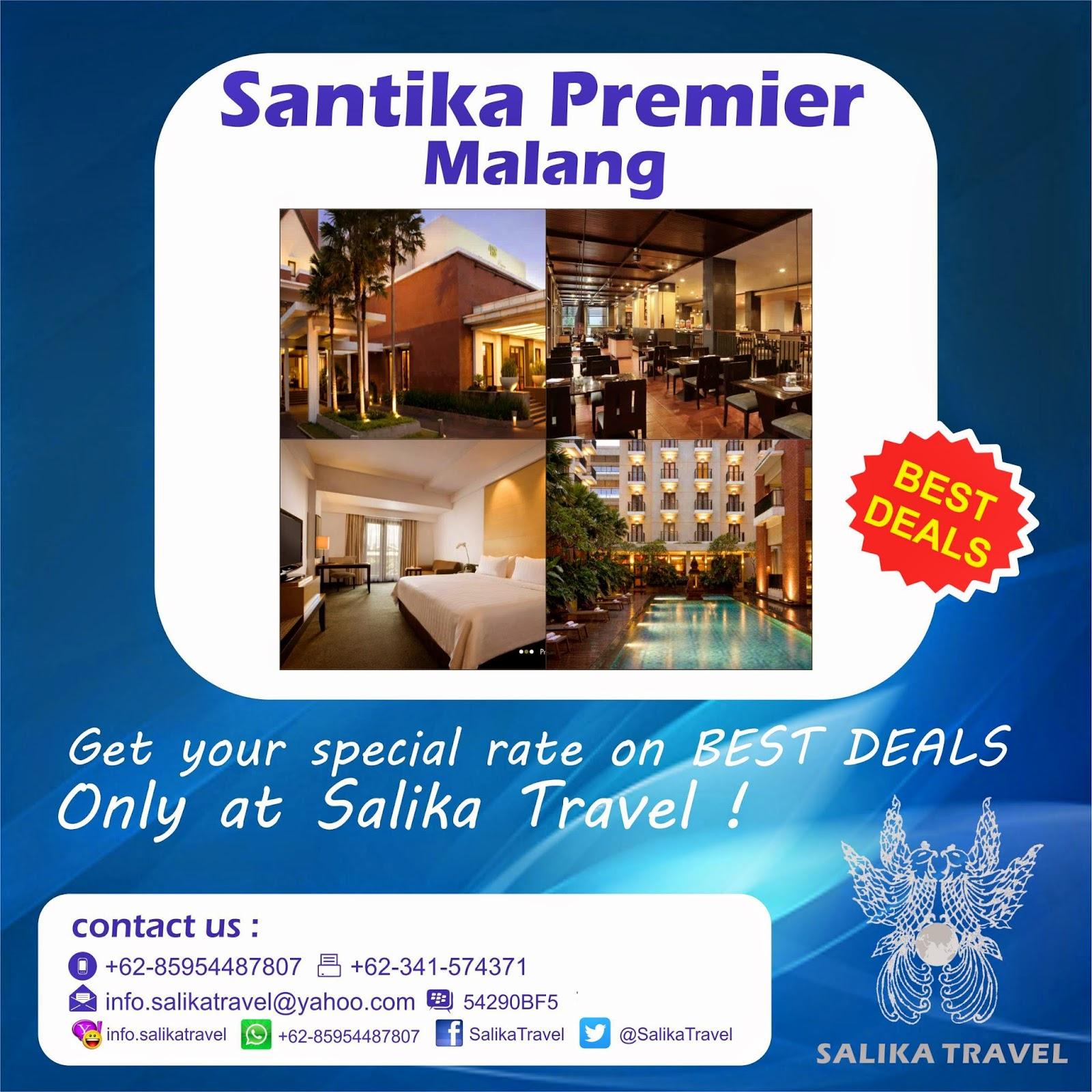 Santika Premier Malang Hotel - Salika Travel