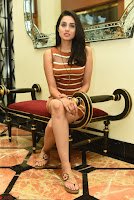 Actress Nikhita in Spicy Small Sleeveless Dress ~  Exclusive 026.JPG