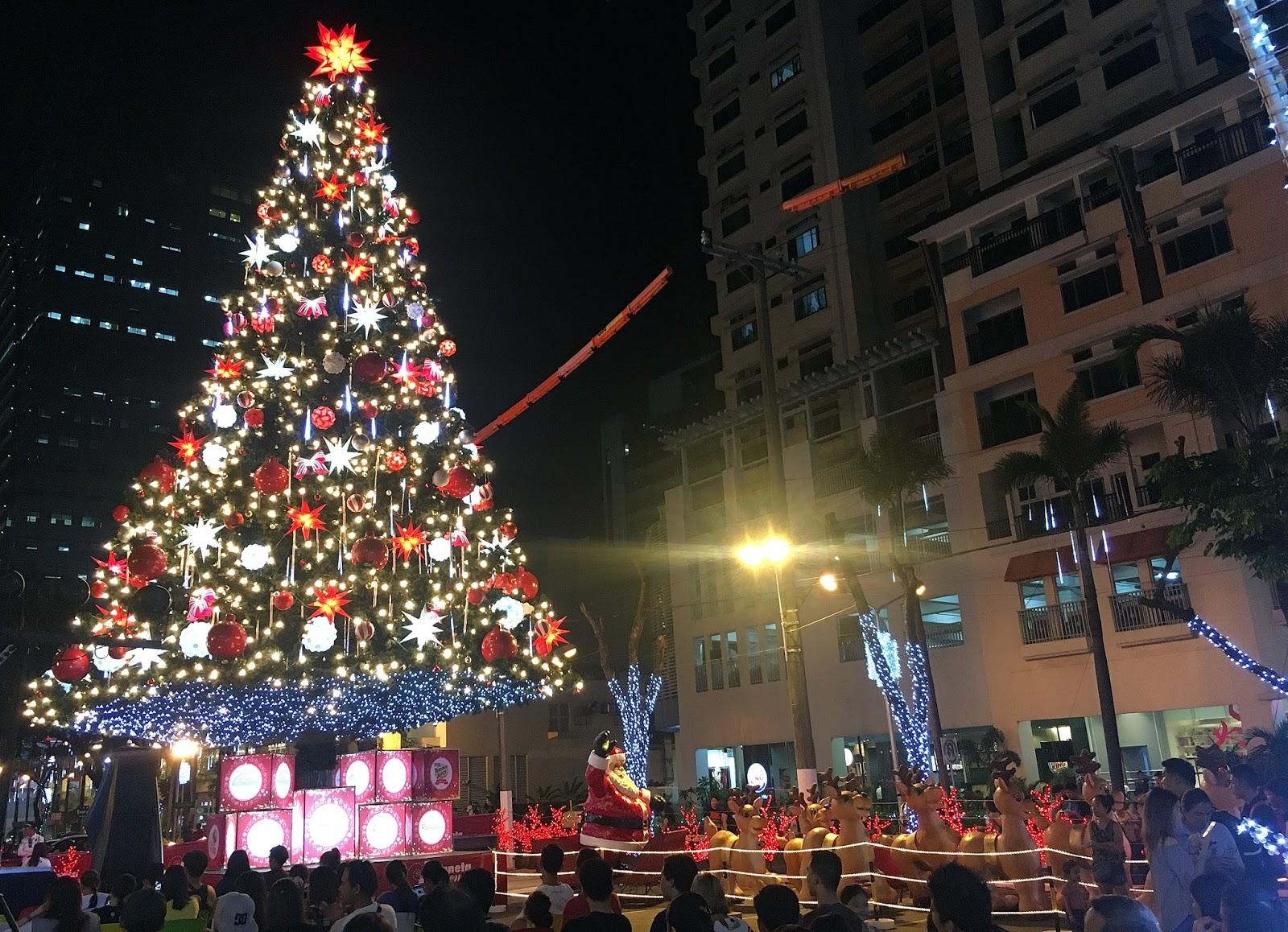 Eunice Express: Araneta Center Christmas Tree and Food Park