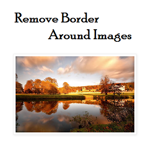 how to remove border and shadow from blogger images main
